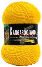 Пряжа Color City KANGAROO WOOL 2104 желтый