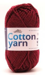 Пряжа Artland COTTON YARN бордо