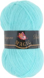 Пряжа Magic ANGORA DELICATE 1111 св.зел.бирюза