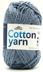 Пряжа Artland COTTON YARN голубой