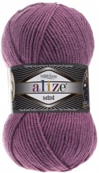 Пряжа Alize SUPERLANA MIDI 28 сух.роза