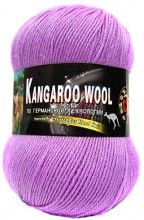 Пряжа Color City KANGAROO WOOL 218F фуксия
