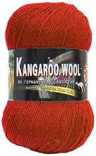 Пряжа Color City KANGAROO WOOL 2210 терракот