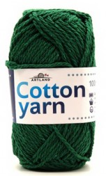 Пряжа Artland COTTON YARN зеленый