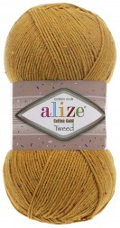 Пряжа Alize COTTON GOLD TWEED 02 шафран