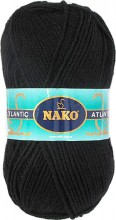 Пряжа Nako ATLANTIC 1252 черный