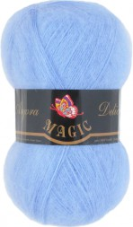 Пряжа Magic ANGORA DELICATE 1117 св.голубой