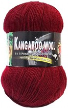 Пряжа Color City KANGAROO WOOL 2225 бордо