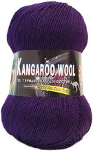 Пряжа Color City KANGAROO WOOL 2236 баклажан