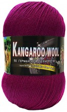 Пряжа Color City KANGAROO WOOL 2243 мальва