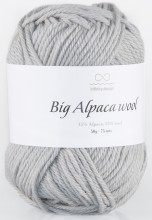 Пряжа Infinity Design BIG ALPACA WOOL 1042 св.серый