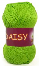 Пряжа Vita cotton DAISY 4425 салатовый