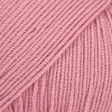 Пряжа Drops BABY MERINO UNI COLOUR 27 п.роза
