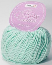 Пряжа Seam BABY COTTON 4313 мята