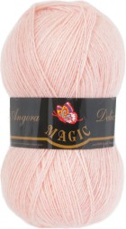 Пряжа Magic ANGORA DELICATE 1122 чайная роза