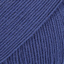 Пряжа Drops BABY MERINO UNI COLOUR 30 синий
