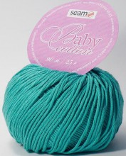 Пряжа Seam BABY COTTON 4314 св.изумруд
