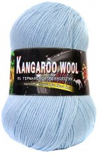 Пряжа Color City KANGAROO WOOL 2300-1 талая вода