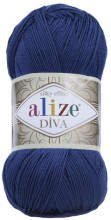 Пряжа Alize DIVA SILK EFFECT 279 джинс