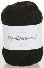 Пряжа Infinity Design BIG ALPACA WOOL 1099 черный