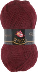 Пряжа Magic ANGORA DELICATE 1124 бордо