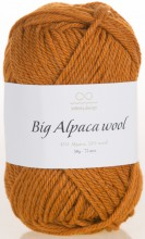 Пряжа Infinity Design BIG ALPACA WOOL 2355 оранжевый