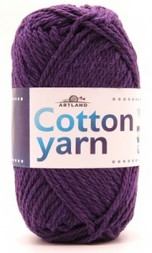Пряжа Artland COTTON YARN т.фиолет