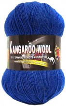 Пряжа Color City KANGAROO WOOL 2309 синий