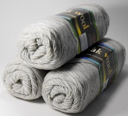 Пряжа Color City YAK WOOL (ЯК ВУЛ) 29601 серо-беж