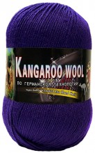 Пряжа Color City KANGAROO WOOL 231 фиолет