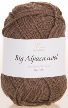Пряжа Infinity Design BIG ALPACA WOOL 3161 коричневый