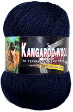Пряжа Color City KANGAROO WOOL 2330 т.синий