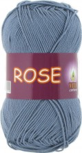 Пряжа Vita cotton ROSE 4257 потертая джинса