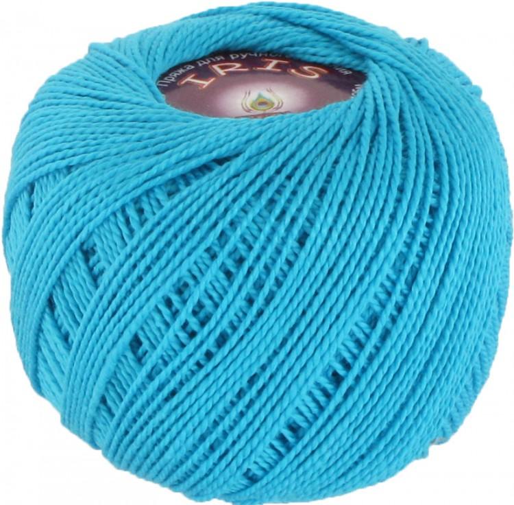 Бирюзовые нитки для вязания 51