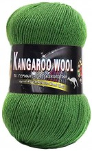 Пряжа Color City KANGAROO WOOL 2416 зеленый