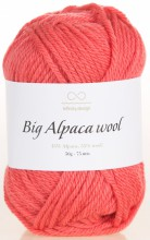 Пряжа Infinity Design BIG ALPACA WOOL 4216 коралл