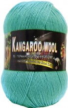 Пряжа Color City KANGAROO WOOL 036 мята