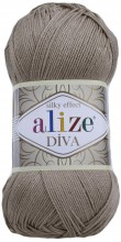 Пряжа Alize DIVA SILK EFFECT 167 беж