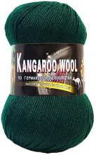 Пряжа Color City KANGAROO WOOL 2427 т.зеленый