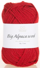 Пряжа Infinity Design BIG ALPACA WOOL 4219 красный