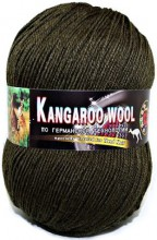 Пряжа Color City KANGAROO WOOL 2444 т.полынь
