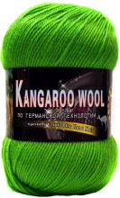 Пряжа Color City KANGAROO WOOL 2450 яр.зелень