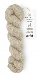 Пряжа Gazzal BABY ALPACA PURE COLOR 6453 бежевый