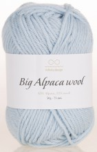 Пряжа Infinity Design BIG ALPACA WOOL 6511 неж.голубой