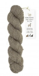 Пряжа Gazzal BABY ALPACA PURE COLOR 6454 натуральный