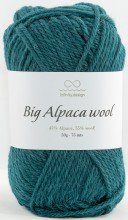 Пряжа Infinity Design BIG ALPACA WOOL 6765 зел.м.волна