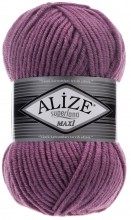 Пряжа Alize SUPERLANA MAXI 28 сух.роза