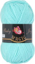 Пряжа Magic BABY JOY 5707 св.зел.бирюза