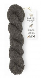Пряжа Gazzal BABY ALPACA PURE COLOR 6456 т.натуральный