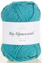 Пряжа Infinity Design BIG ALPACA WOOL 7024 неж.бирюза